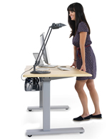 height adjustable desk - pic 1
