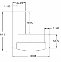 L-Shaped Reception Desk Dimensions