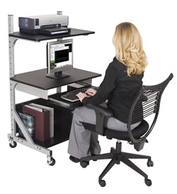 computer height adjustable workstations - pic 1
