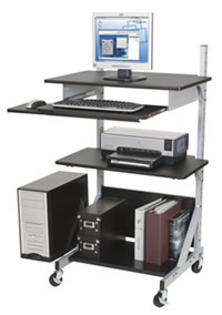 computer height adjustable workstations - pic 2