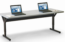 mobile computer training tables - view 2