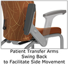 patient chair arms