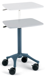 phlebotomy cart - adjustable