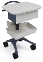 phlebotomy cart - shelf drawer