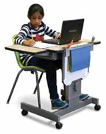 school computer desk - additional image