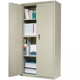 Large fire proof storage cabinet