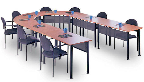 U-Shaped Training Tables Are Modular and Easily Reconfigured