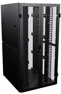 Ventilated Server Cabinet Designed to Meet Side-to-Side Air Flow Specs of Leading Switch Manufacturers